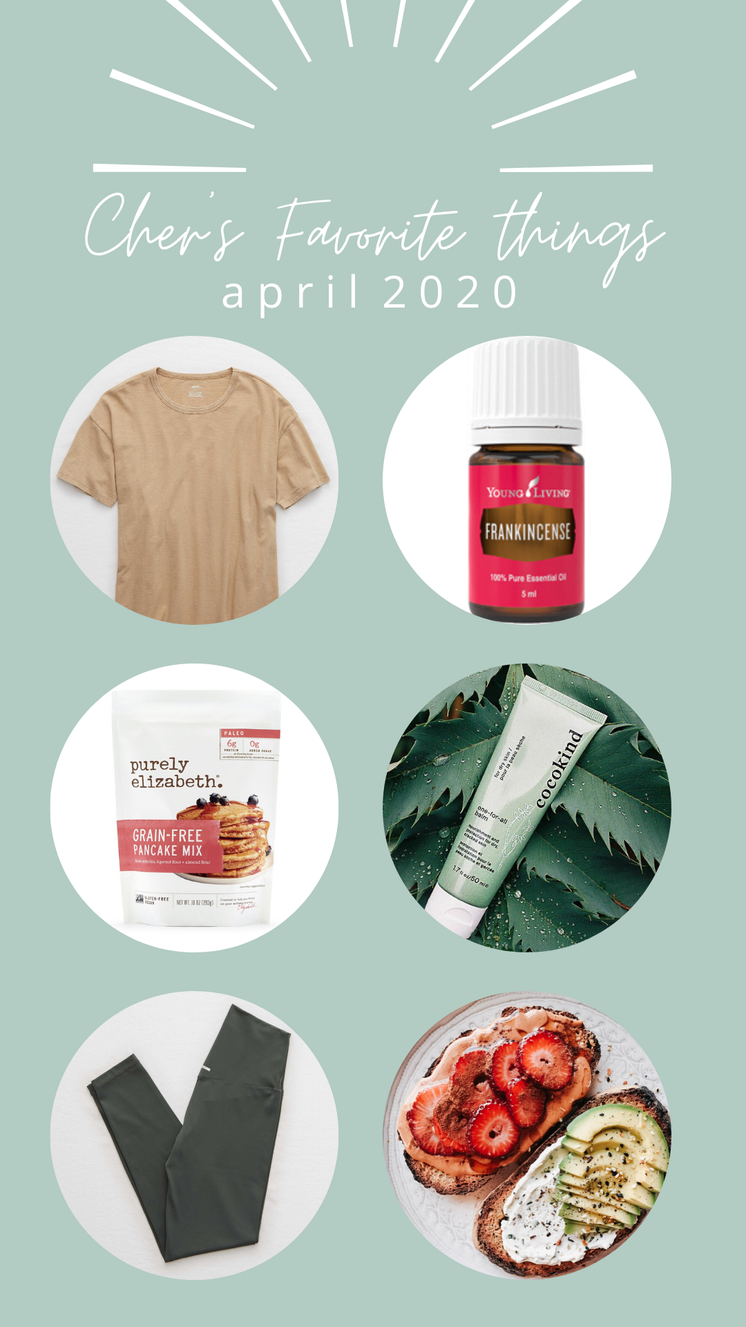Cher's favorite things- April 2020